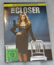 The Closer - Complete Season Series 3 Three - DVD Box Set - NEW SEALED Region 2