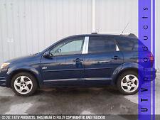 GTG 2003 - 2008 Pontiac Vibe 6PC Chrome Stainless Steel Pillars Posts