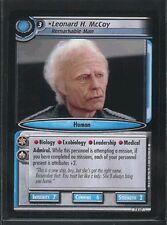 Star Trek CCG 2E SNW RARE Leonard H. McCoy 7R67 NM/M