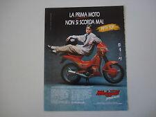 advertising Pubblicità 1990 MALAGUTI FIFTY TOP