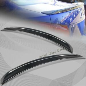For 2006-2012 Lexus IS250 IS350 IS-F Real Carbon Fiber Rear Trunk Spoiler Wing