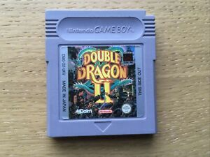 Double Dragon II 2 Nintendo Gameboy Game PAL Cart Only