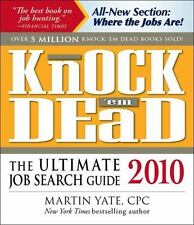 NEW - Knock'em Dead 2010: The Ultimate Job Search Guide