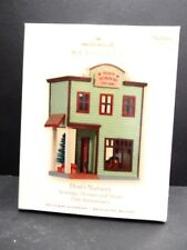 "Hallmark Ornament Nostalgic Houses And Shops 1997 Don""S Nursery Nib"