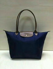 New Longchamp Le Pliage Nylon Tote Handbag Bag Size L Navy Blue