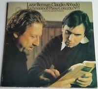 Rachmaninoff Piano Concerto No. 3 Lazar Berman Claudio Abbado CBS 76597 Stereo