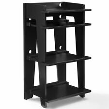 Music Rotating Tower/ Plastic Rack Storage Display Lovely 48 Cd/ Black