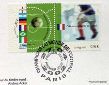 FOOTBALL  FRANCE  Yt 3483 OBLITERATION 1er JOUR NOTICE PHILATELIQUE