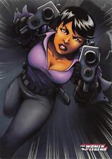 AMANDA WALLER / DC Comics The Women of Legend BASE Trading Card #03