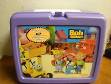 Plastic Bob the Builder Thermos Lunchbox