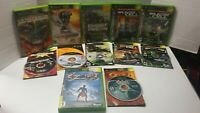 Lot of 6 Xbox Splintercell,Pandora,Chaos Theory,Ghost Recon,Unreal Championship