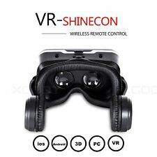 Newest 3D VR Shinecon Virtual Reality Headset VR BOX Game Glasses 2017 Newest
