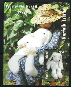 Australia 1999 Norfolk Island Year of the Rabbit mini sheet mint MUH MNH