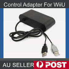 GameCube Controller Adapter Converter for Nintendo Wii U Super Smash Bros PC USB