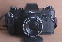 Russian Kiev-19M with Arsat-H 2/50 lens SLR film camera USSR