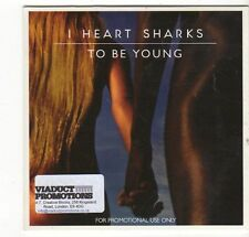 (EZ314) I Heart Sharks, To Be Young - 2014 DJ CD