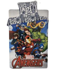 Marvel Avengers Assemble Single Bedding Set Reversible Duvet Cover