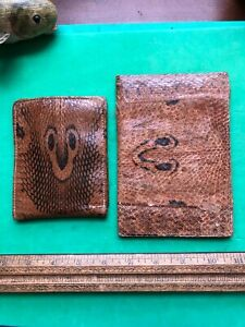 Real Genuine Cobra Snake Skin Leather Wallet  & OTHER  STYLE WALLET