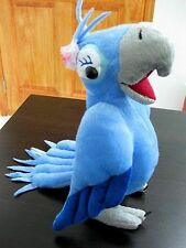 Rio Plush Toy Jewel Cuddly Female Blu Parrot Bird Stuffed Animal Doll