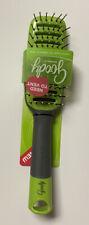 Goody Detangle It Hair Brush Flexible Bristles Green 09567