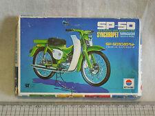 1970s Vintage Nitto Mini Bike Series YAMAGUCHI SP-50 SYNCHROPET 1/20 Model kit