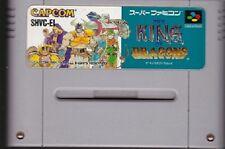 Nintendo Super Famicom The King Of Dragons Japan SFC SNES