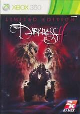 Xbox 360 The Darkness Ii 2 Limited Edition Nuevo Y Sellado