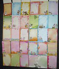 30 Diddl Blockblätter DIN A5 (Set 4) Nr. 248-455 nur bunte - Briefpapier kariert
