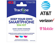 Universal Sim Card Activation Kit 4G Lte Verizon T-Mobile At&T Towers