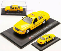 1/43 LEO Diecast Ford Crown TAXI Victoria New York-1992 Car Model Decoration Toy