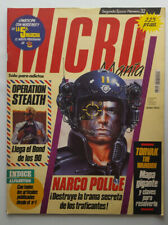 MICROMANIA 2º EPOCA Nº32 / AMSTRAD SPECTRUM - NARCO POLICE - TORVAK THE WARRIOR