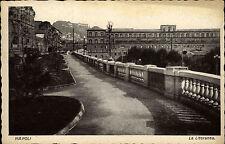 Napoli Neapel Italien ~1920/30 La Litoranea Promenade Cartolina Italiana Italy
