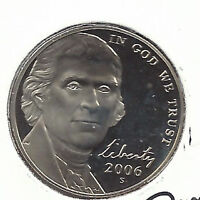 Jefferson Nickels Proofs  2006-S