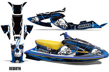 SIKSPAK Yamaha Wave Raider Jet Ski Decals Graphics Kit Wrap 94-96 REBIRTH BLUE