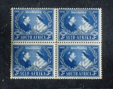1948 KGVI Royal Silver Wedding SOUTH AFRICA 3d SG125  UNMOUNTED MINT Block of 4
