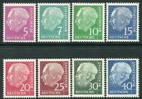 GERMAN FED REP-1954-60 Ex Definitive Set Flourescent Sg 1105b-22d UM V20008
