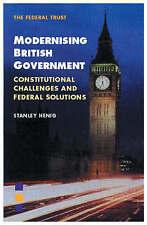Modernising British Government, New, Henig, Stanley Book