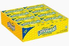 Lemonheads Candy 24 Count Pack Lemon Head Bulk Candies Lemonhead Ferrara Pan