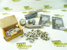 NEW PARKER STAINLESS HYDRAULIC FITTINGS + PNEUAMTIC FITTINGS CYLINDER & GAGES