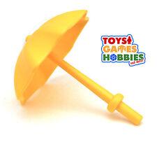 *NEW* LEGO DUPLO Yellow Umbrella - Figure Accessory House Yard Child Family