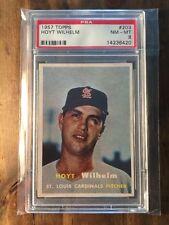1957 Topps Hoyt Wilhelm #203 PSA 8 St Louis Cardinals HOF