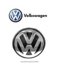 VW new Beetle (02-05) Hood Emblem badge Chrome-Grey front engine lid insignia