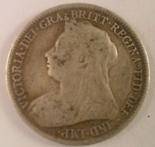 1894 Great Britain Six Pence   ENN COINS