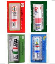 Siang Pure, Poy Sian, Vapex, Peppermint Inhaler relief nasal congestion dizzy x4