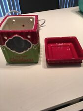 Scentsy Holiday Collection Days Til Christmas- Preowned