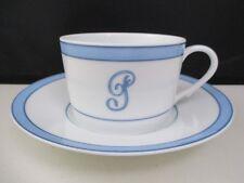 "RAYNAUD TROPIC - CUP & SAUCER - Monogram -G- 2 1/4"" 1109C"