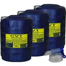 3x20L MANNOL Automatikgetriebeöl CVT Variator Fluid Getriebe Öll Auslaufhahn
