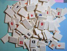 TOY 1997 RUMMIKUB GAME TILES – CHOOSE 1 or 2 or 3 TILES - SEE BELOW AND CHOOSE