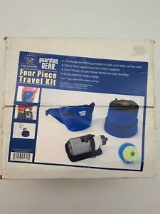 Four Piece Travel Kit for Dogs: Blue (PET52)