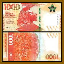 Hong Kong 1000 (1,000) Dollars, 2018 P-New HSCB New Design Unc